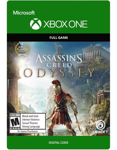 Assassins Creed Odyssey Xbox One - 25 Dígitos