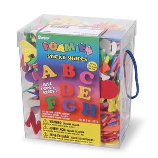 Darice Foamies Glitter Sticker cubo Actividades creativas estrellas