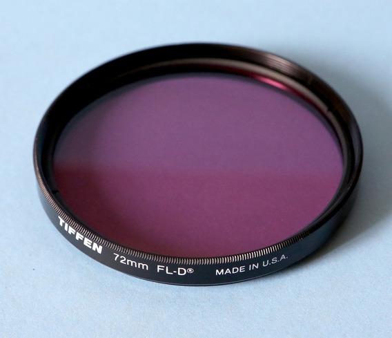 Filtro Tiffen Fl-d 72mm Luz Fluorescente Lentes Canon Nikon