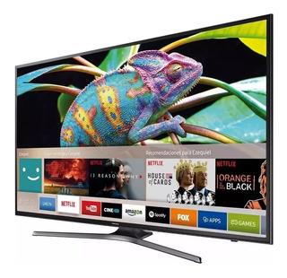 Smart Tv Samsung 50 4k Uhd Un50mu6100 Nueva Gtia Ahora 12