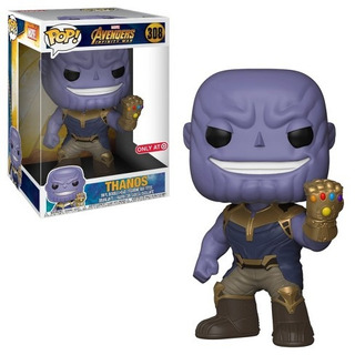 Gigante Funko Pop Thanos Infinity War 10 Pulgadas