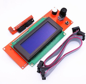 Display Lcd 2004 Com Leitor Sd Impressora 3d Reprap Ramps