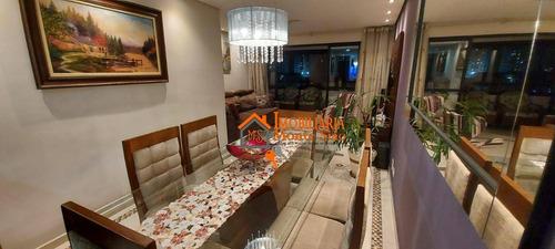 Imagem 1 de 1 de Apartamento Com 3 Dormitórios À Venda, 113 M² Por R$ 680.000,00 - Vila Zanardi - Guarulhos/sp - Ap3039