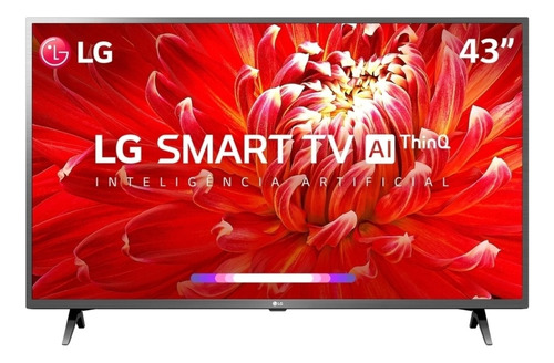 Smart Tv 43  LG Lcd Full Hd 43lm6300psb Thinq Ai Webos 4.5