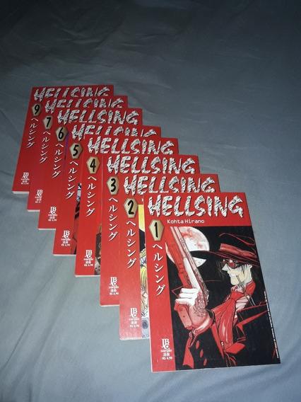 Mangá Hellsing Vol 1 Ao 20 Colecionador Novo Frete Grátis