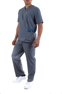 Uniforme Medico Quirúrgico, Conjunto Con Gorro, Hombre