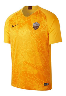 Camisa Roma Nike Uniforme 3 18/19 Original - Footlet