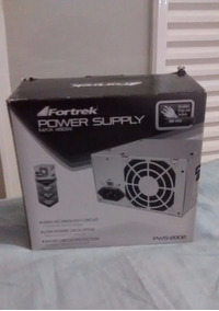 Fonte Power Supply Fortrek 450w 200w Pws-2002