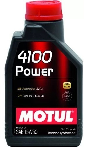 Óleo Motul 4100 Power 15w50 Semissintético 1 Litro