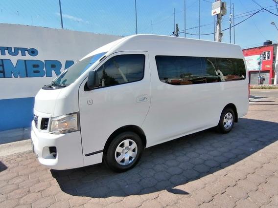 Nissan Urvan 2017 Carga