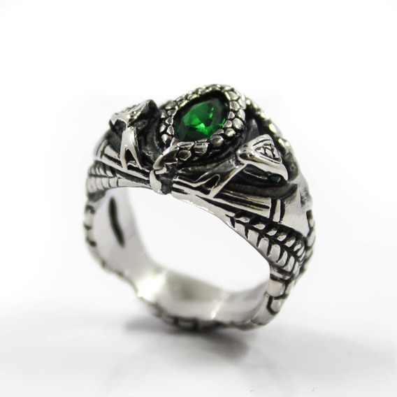Anillo Aragorn Barahir Lord Of The Rings Acero Inoxidable