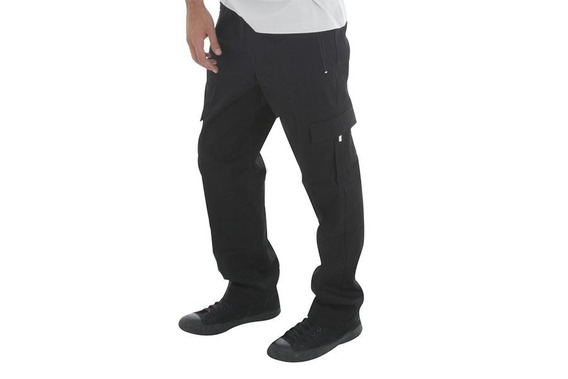 Pantalon Nautico Cargo - Gabardina 100% Algodón - Talles Especiales 8 Al 10 (adulto) - 5 Bolsillos - Elastico Y Cordón