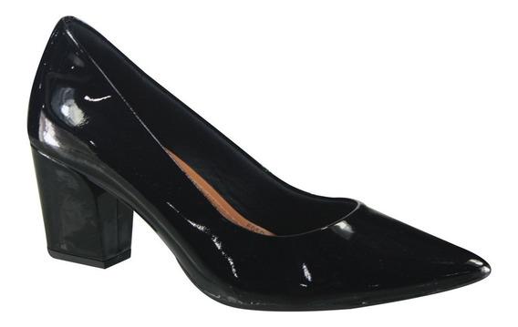 Sapato Scarpin Usaflex De Verniz Z7601/11 Original