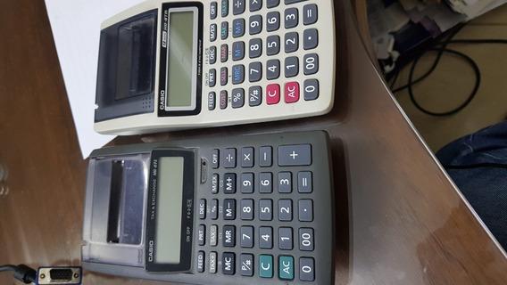 2 Calculadoras 1 Casio Hr -8tm E Outra Hr-8te