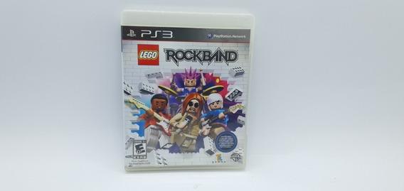 Lego Rockband - Ps3 - Mídia Física Em Cd