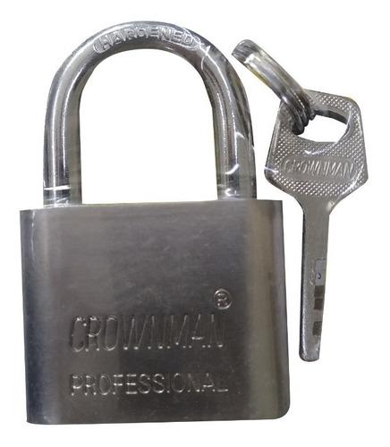 Candado Seguridad 50mm Acero Crownman Ferreteronline