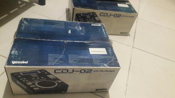 Cdj - 02 Cd Player Gemini Profissional