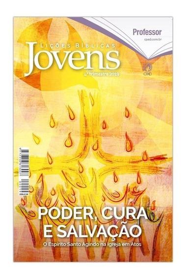 Kit Revista Jovens 4° Tri 2019 - 1 Mestre + 1 Livro De Apoio