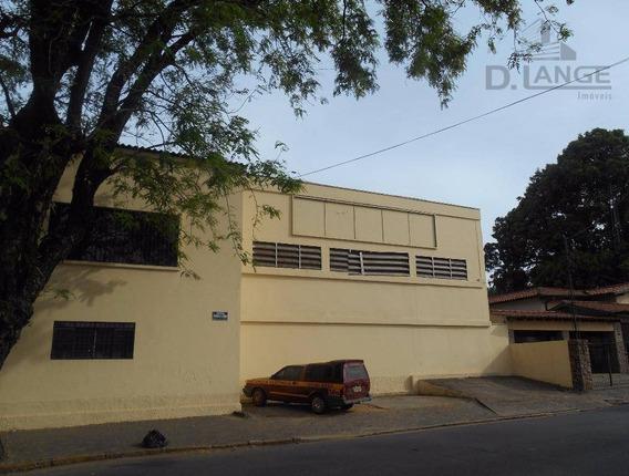 Galpão Comercial Para Locação, Vila Azenha, Nova Odessa. - Ga0420