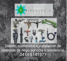 Sistemas De Riego, Bombas, Aspersores, Cañones, Accesorios.