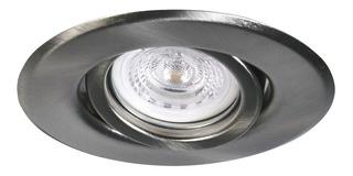 Lámpara Spot Led Embutir Techo 7w 220v Gu10 Acero Completo