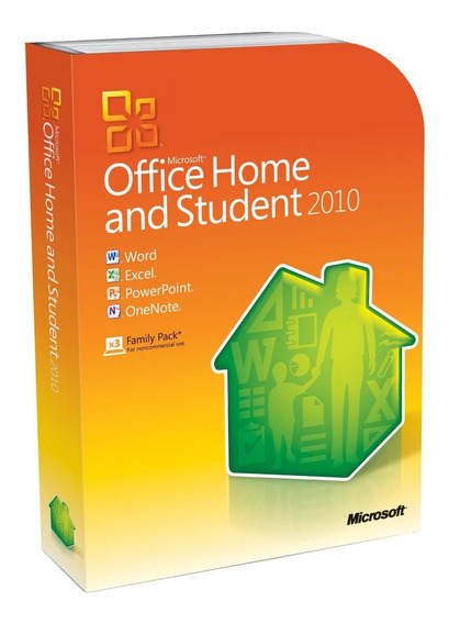 Microsoft Office Home & Student 2010 32/64 Box
