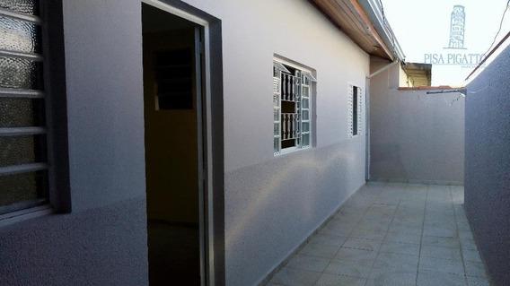 Casa Com 1 Dormitório Para Alugar, 60 M² Por R$ 950,00/mês - Jardim Primavera - Paulínia/sp - Ca1675