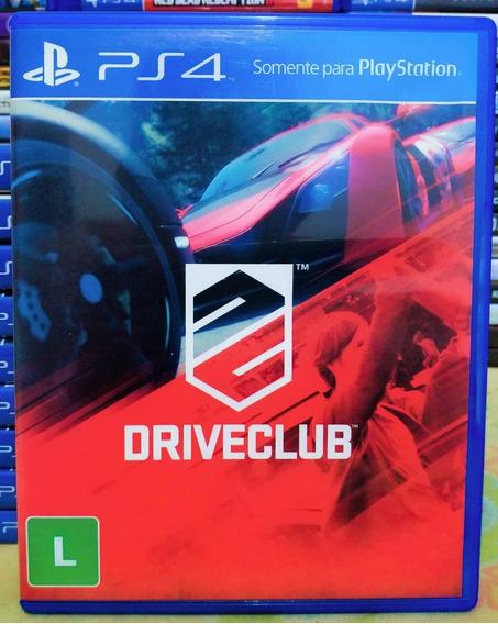 Driveclub Ps4 - Jogo Mídia Física Em Português