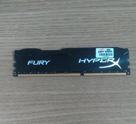 Memoria Gamer Kingston Hyperx Fury 8gb 1866mhz Ddr3