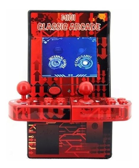 Mini Arcade Fliperama Video Game 183 Jogos - Powerfigures
