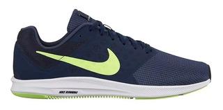 Tenis Nike Downshifter 7 Thunder Blue Deportivo Caballeros
