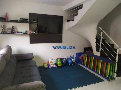 Sobrado À Venda, 140 M² Por R$ 600.000,00 - Vila Rosália - Guarulhos/sp - So0805