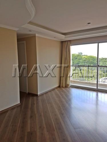 Apartamento A 1300 Mts Do Metro Parada Inglesa 3 Dormitórios - Mi80737