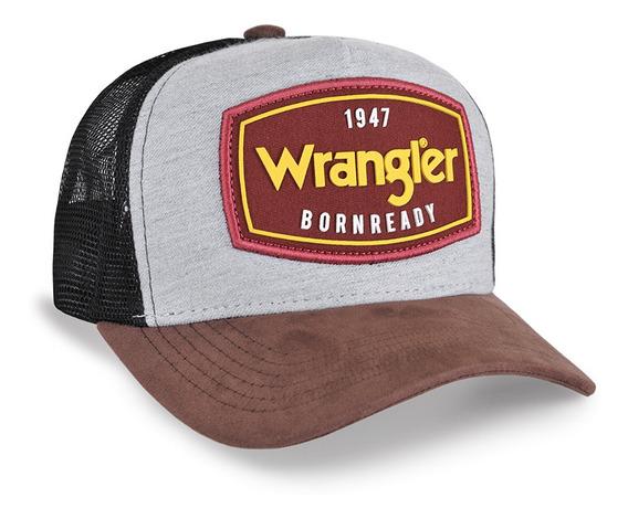 Boné Country Wrangler Bornready Original Lançamento Unissex