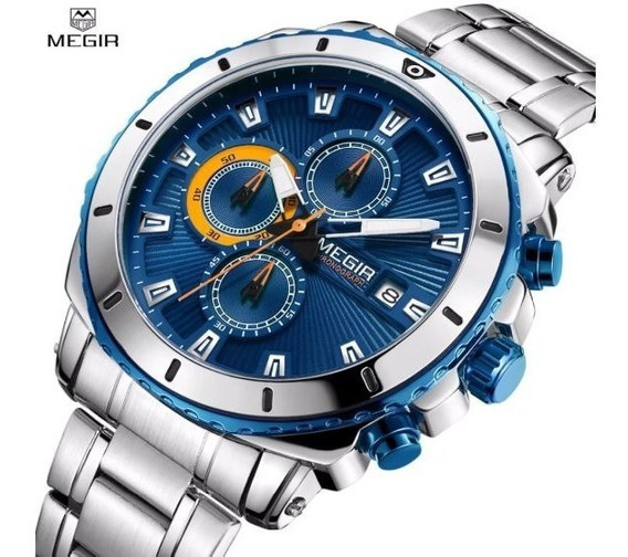 Relógio Masculino Megir 2075
