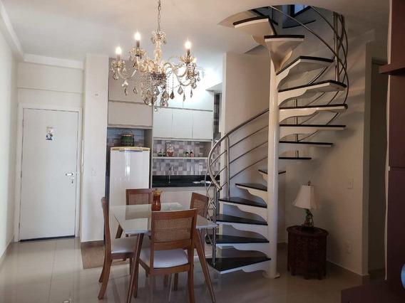 Apartamento Cobertura No Green Plaza, 142m², 2vgs, - Rio Preto - V5429