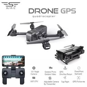 Drone Sjrc Z5 Cam 720p Hd 2,4g Gps Gimbal 90° Des R$ 100,00