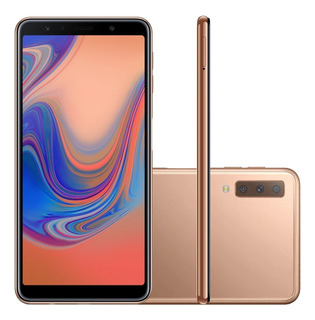 Smartphone Samsung Galaxy A7 Sm-a750g 4g Android 64gb Cobre