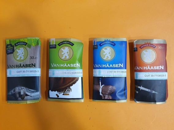 Tabaco Van Haasen Para Armar Varios Sabores 30 Gramos.