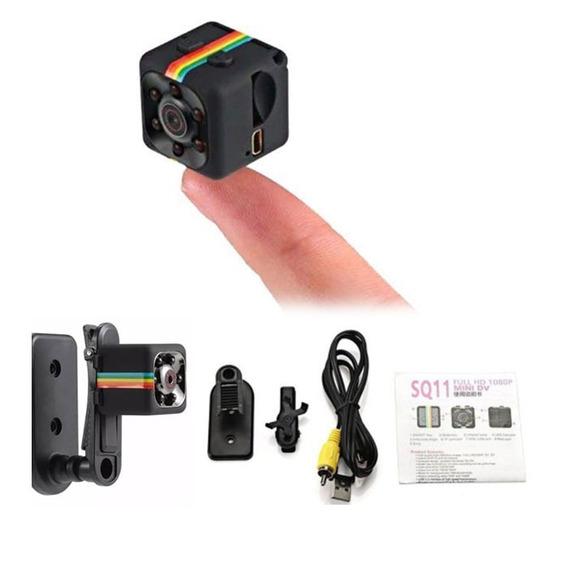 Mini Camera Espiã Sq11 1080p Fullhd Sensor De Movimento Dvr