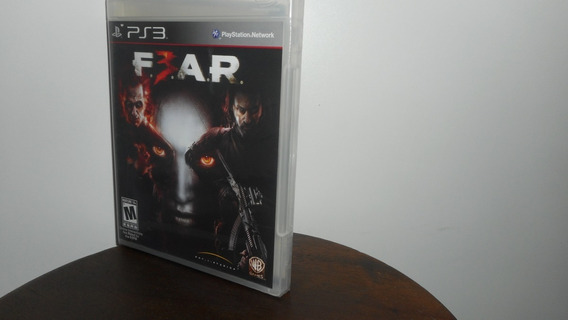 Fear 3 Ps3 Mídia Física Novo Lacrado Raro