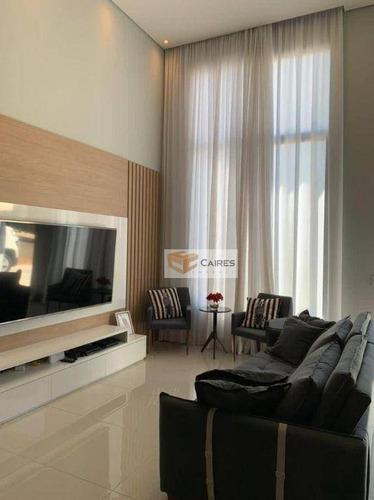 Imagem 1 de 30 de Casa Com 3 Dormitórios À Venda, 173 M² Por R$ 900.000,00 - Condomínio Di Mônaco - Hortolândia/sp - Ca3230