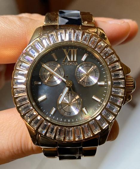 Relógio Invicta Feminino 29098 Banhado Ouro 18k Original