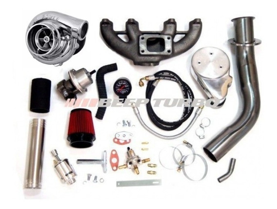 Kit Turbo Vw Ap Carburado 1.8 + Turbina 42/48 Master Power