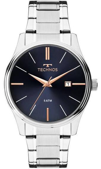 Relógio Technos Steel 2115mpm/1k
