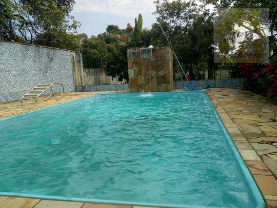 Chácara Com 6 Dormitórios À Venda, 1680 M² Por R$ 450.000 - Balneário Gaivota - Itanhaém/sp - Ch0017
