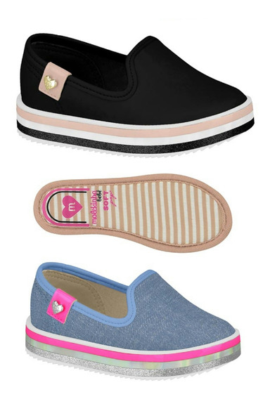 Sapato Slip On Infantil Molekinha Tenis 2131203