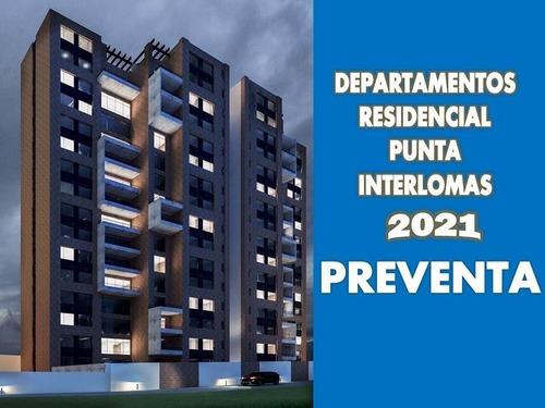 Preventa Departamento Con Terraza Punta Interlomas