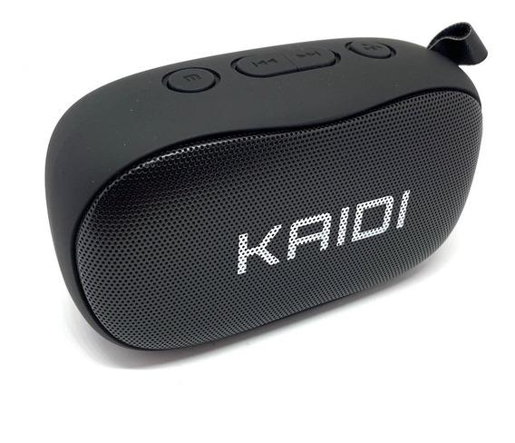 Caixa De Som Bluetooth Portátil Rádio Rádio Fm Kaidi Kd811