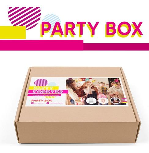 Kit Decoración Cumpleaños Party Box Cotillon Modelo Kids